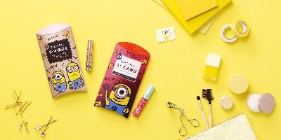 スカルプDのまつ毛美容液シリーズより キュートなミニオンのデザインパッケージを発売いたします