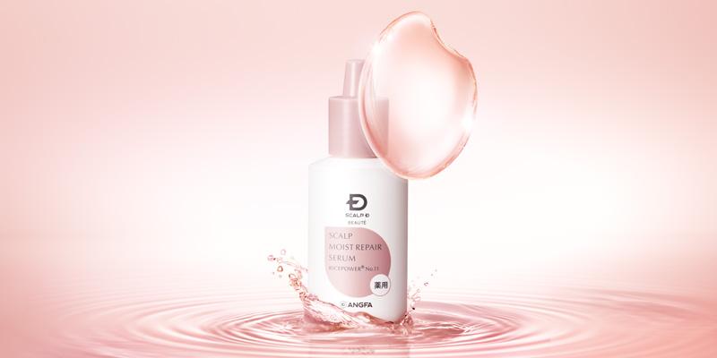 ライスパワー®No.11※1配合   日本初!「頭皮水分保持能の改善」をする美容液