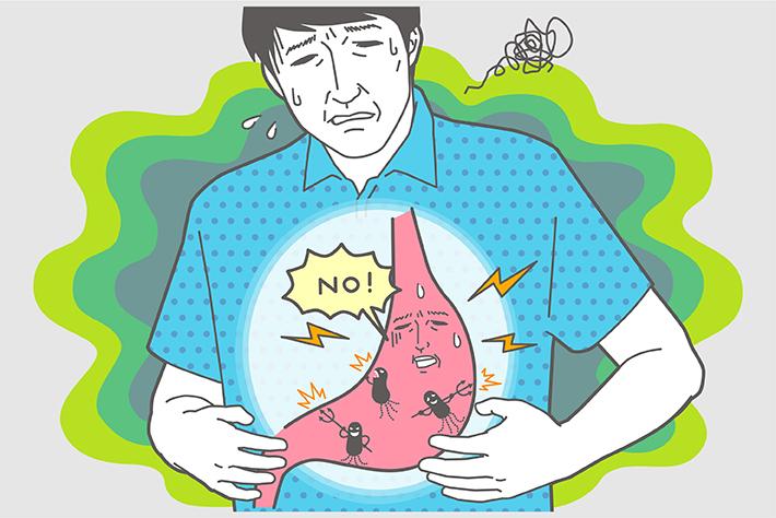 胃もたれ、吐き気、お腹が空くと胃がキリキリ……原因は「ピロリ菌」だって知っていましたか?