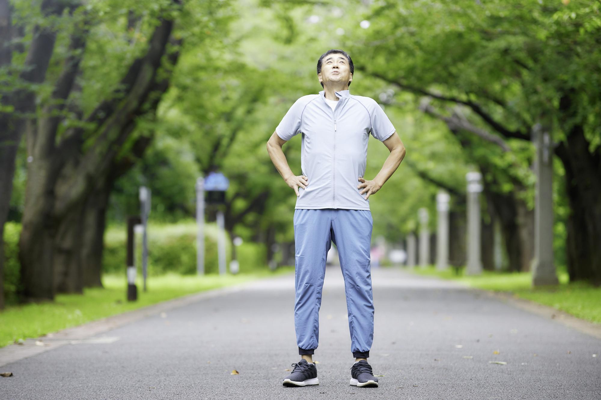 適度な運動が健康の必須事項!