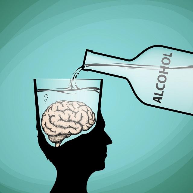 アルコールは脳の報酬系を刺激する